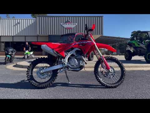 2022 Honda CRF450RX in Greenville, North Carolina - Video 1