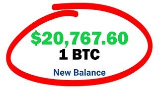 Earn $20,000 Bitcoin Mining BTC Automatically (FREE) | Earn 1 BTC in 1 DAY