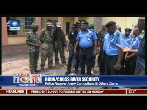 Police Parade 3 Suspects Over Alleged Impersonation