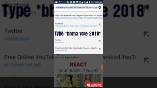 How to vote bts on bbma