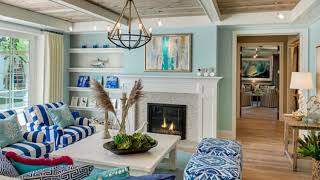50+ Comfy Coastal Living Room Decorating Ideas