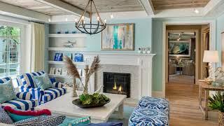 50+ Comfy Coastal Living Room Decorating Ideas