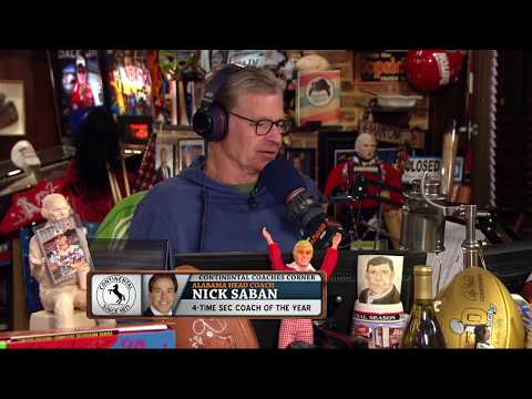 Alabama Head Coach Nick Saban Agrees That He's Overrated | The Dan Patrick Show | 8/21/17