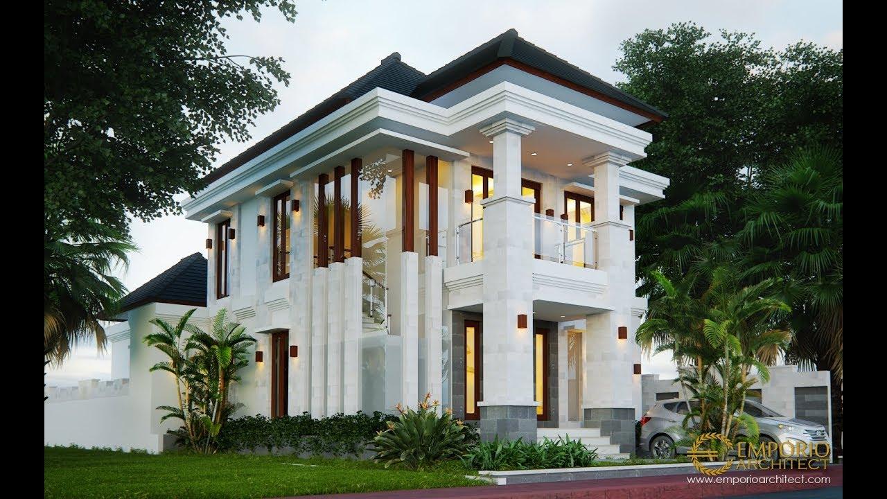 Video 3D Desain Rumah Villa Bali 2 Lantai Bapak Rudi di Batam