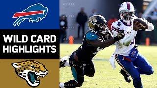 Bills vs. Jaguars | NFL Wild Card Game Highlights