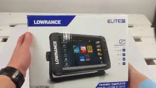 Lowrance elite 9 ti totalscan