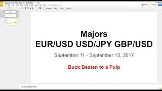 Boris and Kathy Forex Weekly - 11-9-2017 - Majors