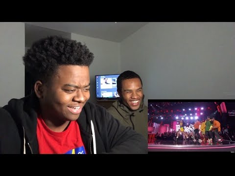 Bruno Mars and Cardi B - Finesse (LIVE From The 60th GRAMMYs ®) - REACTION