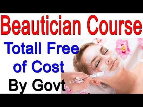Beauty Salon Cource Free of Cost - YouTube
