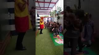 Emília visita os alunos do Infantil 2