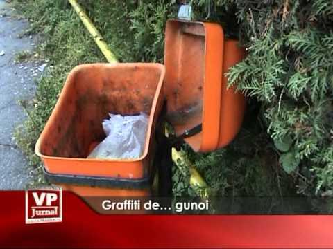 Graffiti de… gunoi