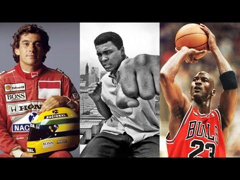 10 Maiores esportistas de todos os tempos