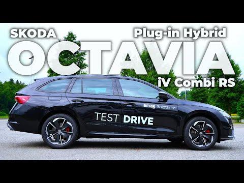 New Skoda Octavia iV Combi RS Plug-in Hybrid 2021
