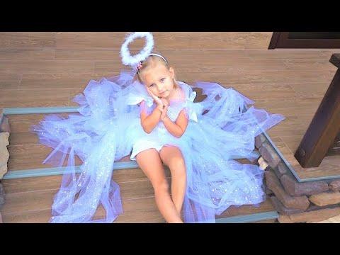 Алиса и мама сделали ПЛАТЬЕ своими руками !!! DIY dress for girl / Мими Лисса