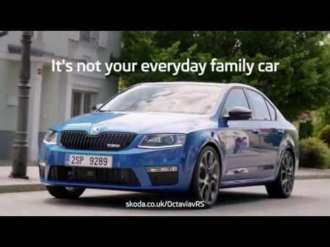 SKODA Octavia vRS – Not Your Everyday Family Car Ad