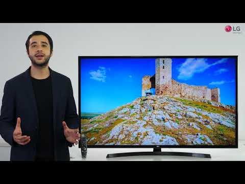 Prezentare video LG UHD UK6470