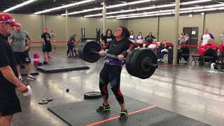 Kimberly Derks! Pressing Machine and 181# USS Axle C&P Record Holder!