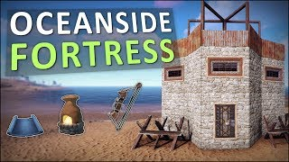 Starting a FORTRESS by the SEA! - Rust Solo Survival #1
