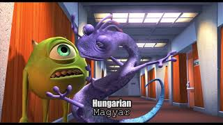 Monsters, Inc    Randall (Multilanguage) 25 Languages