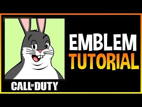 Call Of Duty Black Ops 4 Big Chungus Emblem Tutorial Smotret