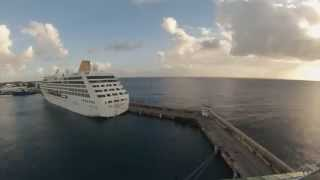 preview picture of video 'Bridgetown, Barbados   Jewel of the Seas Departure Time Lapse HD (2015)'
