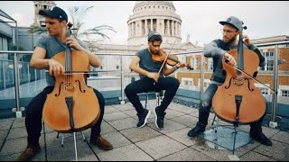 Gambar cover Shape of You - Ed Sheeran (Violin and Cello Cover by Ember Trio)