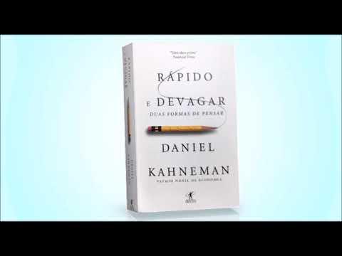 Rápido e devagar audiolivro Daniel Kahneman Parte 1.