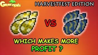 Chandelier vs Fish tank for Harvestfest, Which is better? - Growtopia