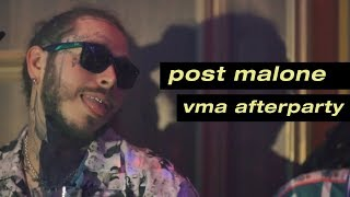 Post Malone VMA Afterparty
