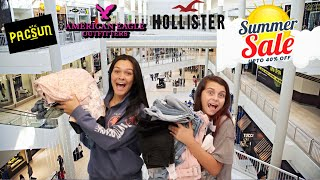 THE MALL IS OPEN! SHOPPING SALES + SUMMER CLOTHING HAUL 2020! EMMA AND ELLIE