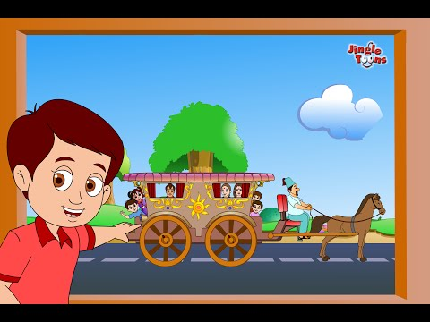 Gharapudhe Thambla Tanga | Superhit Marathi Balgeet 2018 | Kids Songs By Jingle Toons