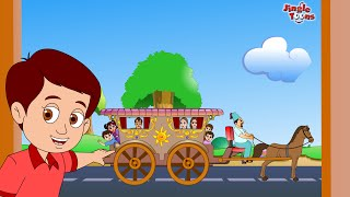 Gharapudhe Thambla Tanga | Superhit Marathi Balgeet 2018 | Kids Songs by Jingle Toons