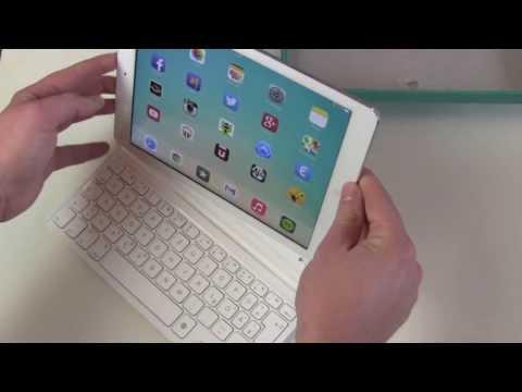 Logitech Ultrathin Keyboard Cover iPad Air Unboxing