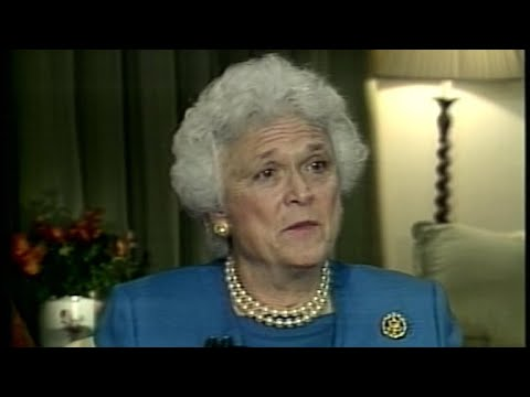 Bob Schieffer on Barbara Bush, the