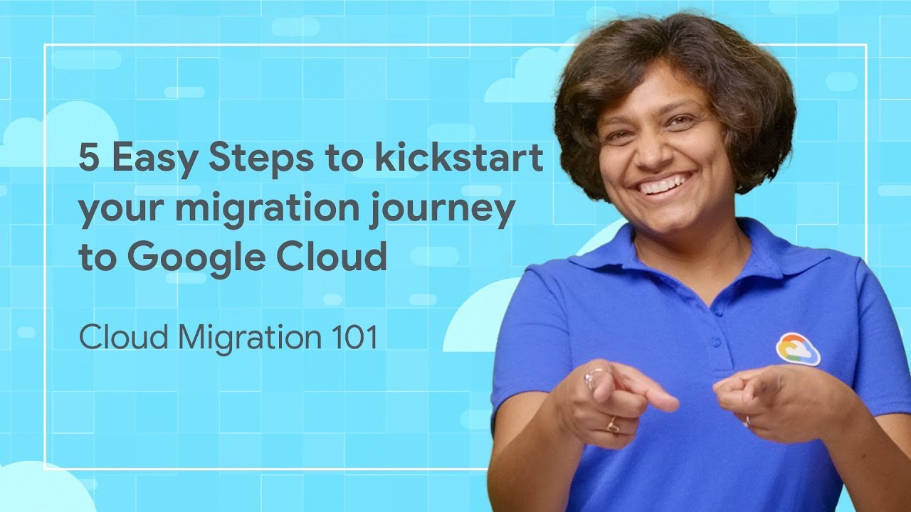 The first episode of Migrating to Google Cloud 101 where we guide you through the journey of migrating your application to the Cloud.