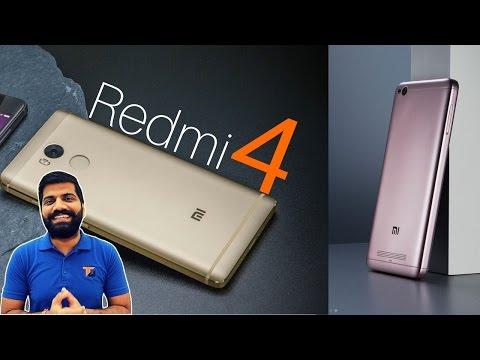 Xiaomi Redmi 4, Redmi 4A, Redmi Pro/Prime | Metal in Budget