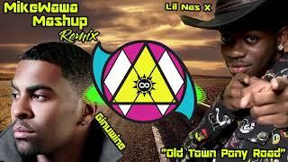 MikeWawa x Ginuwine x Lil Nas X  - Old Town Pony Road Mashup Remix C7osure #mashup #remix #blends