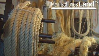 Seiler oder Seilmacher - so werden Seile traditionell aus Hanf gemacht