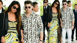 Nick Jonas And Priyanka Chopra Spotted Outside The Hotel In Cannes 2019 | Nickyanka In Cannes 2019
