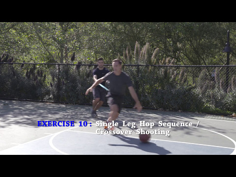 Single Leg Hop Sequence - Crossover Shooting