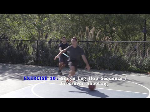 Single Leg Hop Sequence - Crossover Shooting