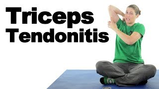 Triceps Tendonitis Treatment Stretches & Exercises - Ask Doctor Jo