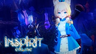 Inspirit Online (ELOA) - lvl 10 Gunner - Secret Forest (Party Dungeon) - CBT1 - F2P - NA/EU