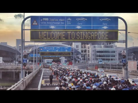 Singapore Halau Pekerja Malaysia Dengan Tutup Border!