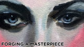 #060 * Forging A Masterpiece * Malcolm T Liepke Master Copy * Time Lapse * Oil Painting
