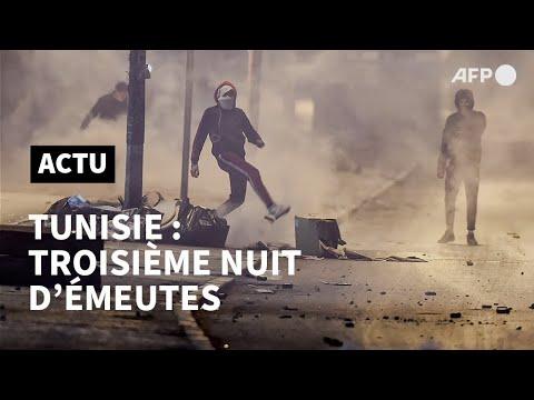Emeutes en Tunisie: 600 arrestations, l'armée en renfort | AFP Emeutes en Tunisie: 600 arrestations, l'armée en renfort | AFP