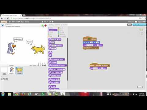 Scratch Tutorial- How to Broadcast