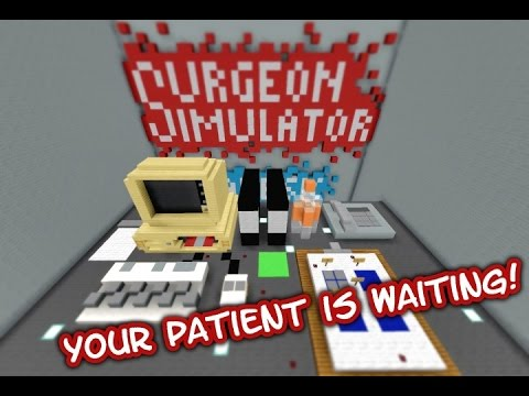 SURGEON SIMULATOR IN MINECRAFT Minecraft Project - Wie downloade ich maps fur minecraft