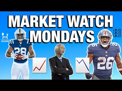 Saquon Barkley HURT, is Jonathan Taylor the Next Great Running Back?   ll   Market Watch Mondays