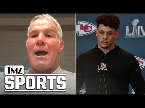 Brett Favre Gives Patrick Mahomes Super Bowl Advice | TMZ Sports